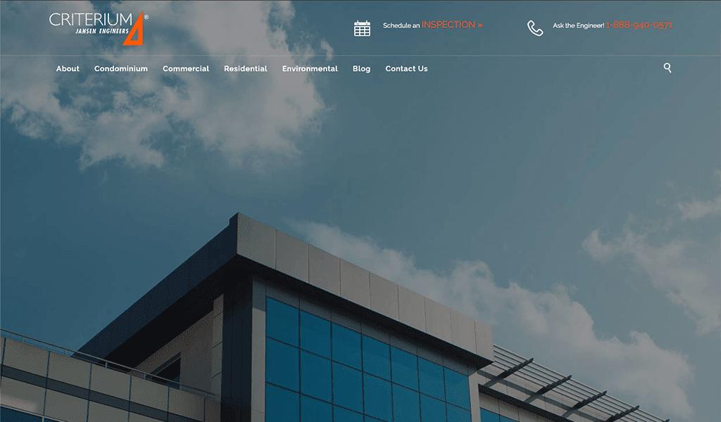 Criterium Jansen website screenshot