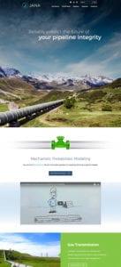 Jana website screenshot
