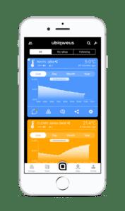 Qbiq app design