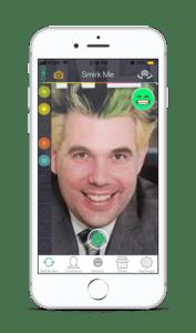 Smirkee app design