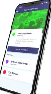 Reset Zone app design