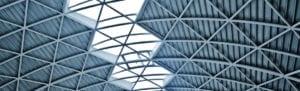 Geometric metal ceiling
