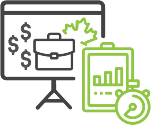 Canadian job training grant icon