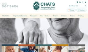 CHATS website screenshot