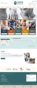 CHATS website screenshot