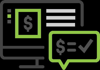 E-commerce web quote icon