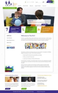 Etobicoke Children's Centre website screenshot