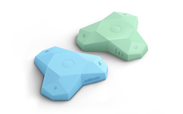 LTE beacons, blue and green