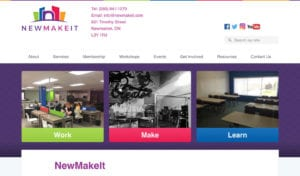 NewMakeIt website screenshot