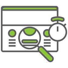 Digital marketing services icon